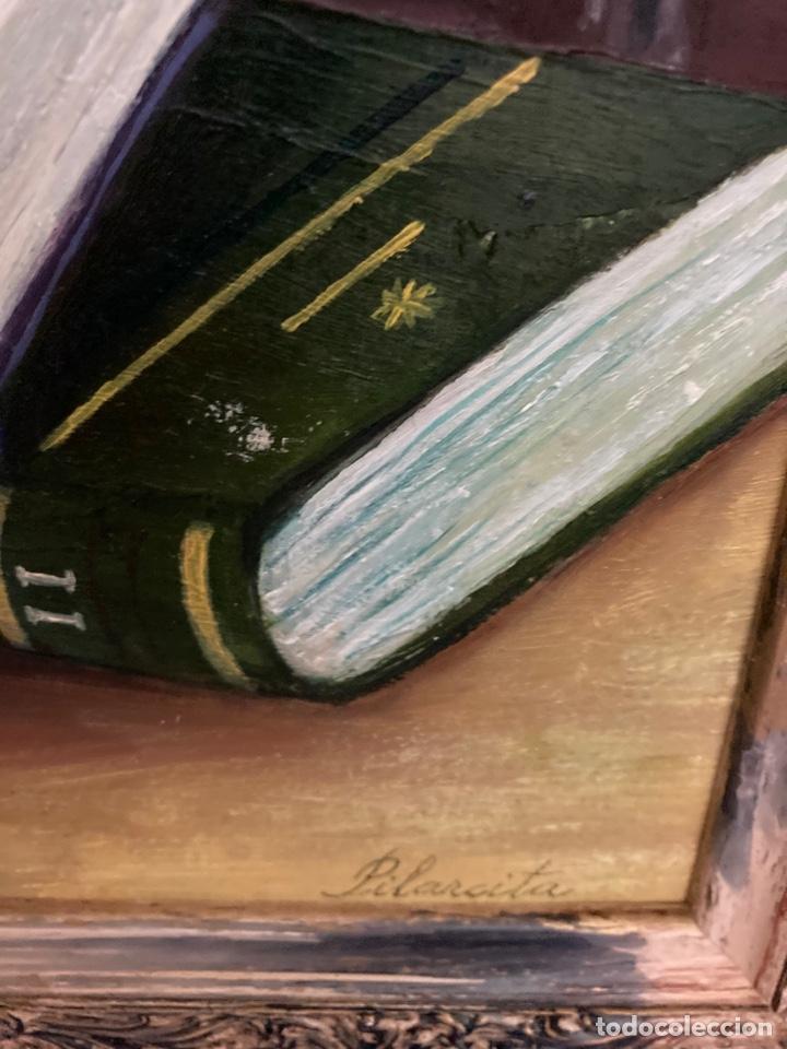 Arte: Cuadro de óleo sobre tabla , original y firmado, - Foto 6 - 277155398