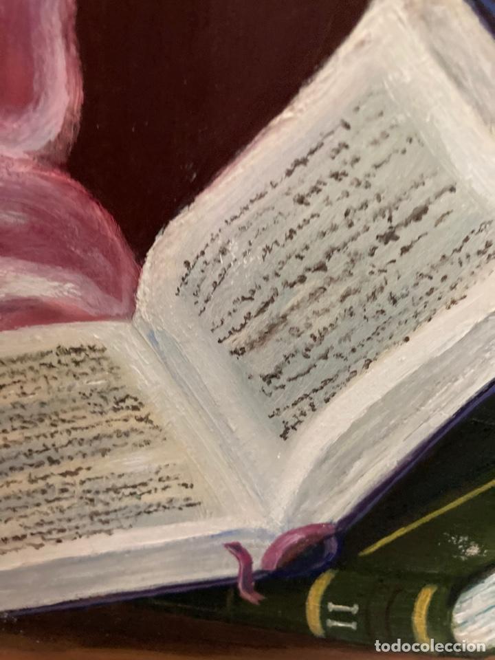 Arte: Cuadro de óleo sobre tabla , original y firmado, - Foto 7 - 277155398