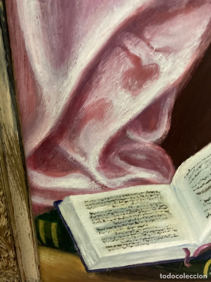 Arte: Cuadro de óleo sobre tabla , original y firmado, - Foto 9 - 277155398
