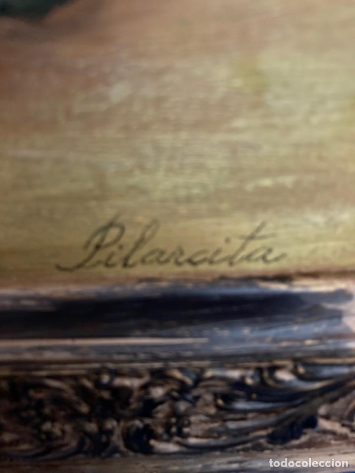 Arte: Cuadro de óleo sobre tabla , original y firmado, - Foto 10 - 277155398