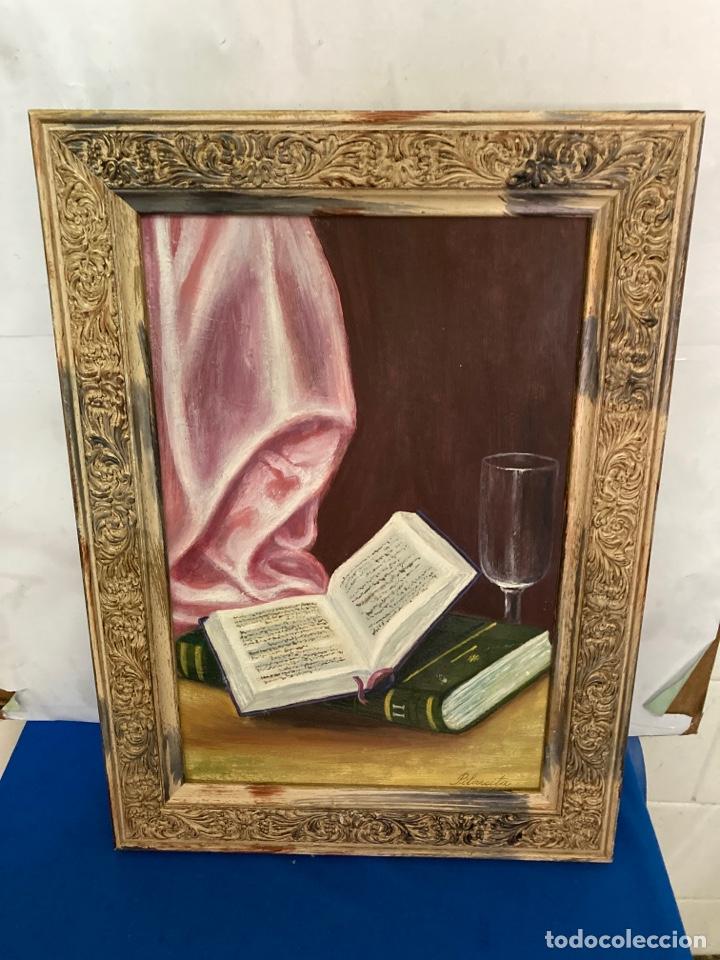 CUADRO DE ÓLEO SOBRE TABLA , ORIGINAL Y FIRMADO, (Arte - Pintura - Pintura al Óleo Moderna siglo XIX)