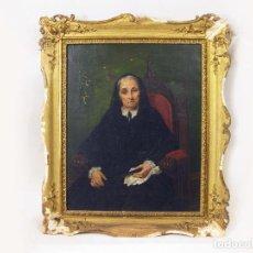 Arte: OLEO SOBRE TELA DEL PINTOR FRANCISCO MARTINEZ SALAMANCA Y COSTA. DECORADOR MUSEO DEL PRADO. S XIX. Lote 277183438