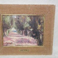 Arte: BONITO PAISAJE PINTADO AL ÓLEO DE JUAN CELDA. Lote 277305218