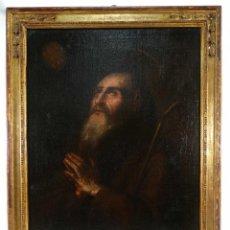 Arte: ÓLEO SOBRE LIENZO ANCIANO ESCUELA ESPAÑOLA SIGLO XVII. Lote 277517063