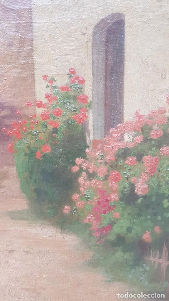 Arte: PAISAJE CALLE RURAL JOAQUIN FERRER Y PALLEJA (1845-1945) - Foto 7 - 277618233