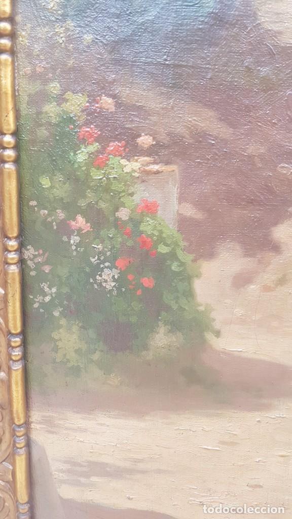 Arte: PAISAJE CALLE RURAL JOAQUIN FERRER Y PALLEJA (1845-1945) - Foto 8 - 277618233