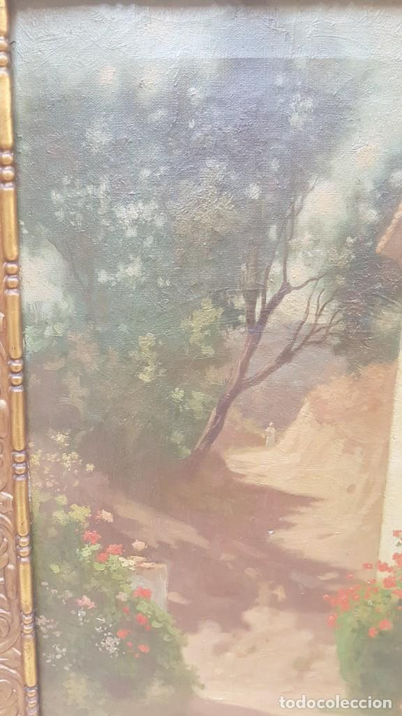 Arte: PAISAJE CALLE RURAL JOAQUIN FERRER Y PALLEJA (1845-1945) - Foto 9 - 277618233