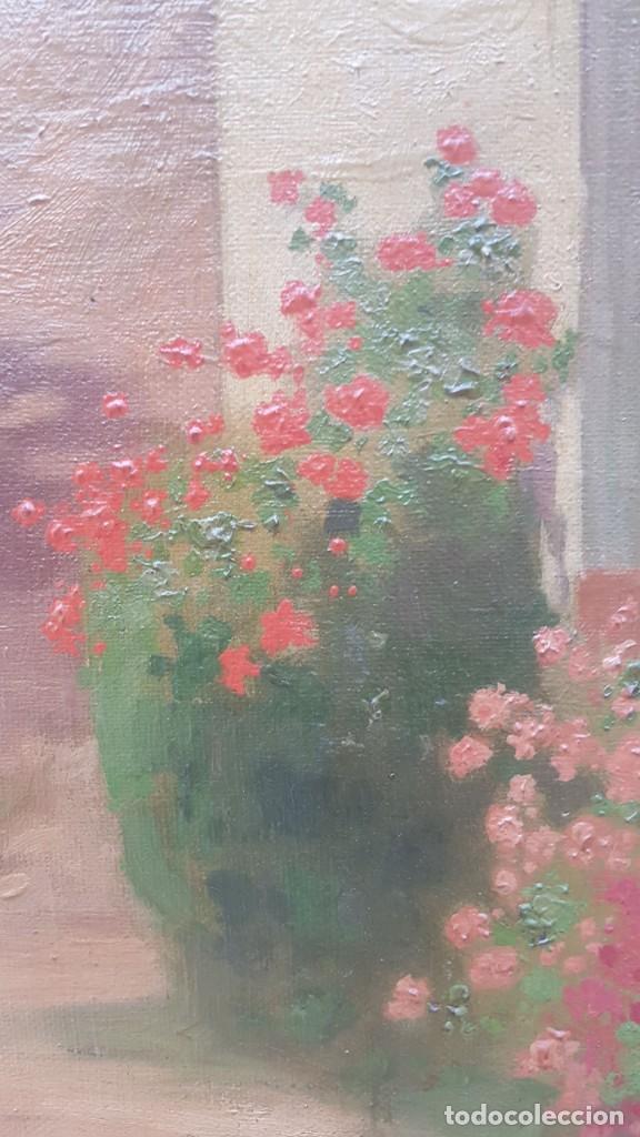 Arte: PAISAJE CALLE RURAL JOAQUIN FERRER Y PALLEJA (1845-1945) - Foto 10 - 277618233