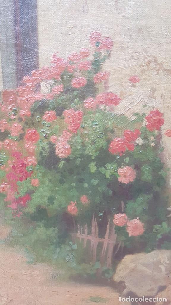 Arte: PAISAJE CALLE RURAL JOAQUIN FERRER Y PALLEJA (1845-1945) - Foto 11 - 277618233