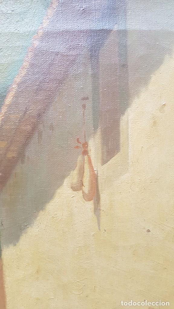 Arte: PAISAJE CALLE RURAL JOAQUIN FERRER Y PALLEJA (1845-1945) - Foto 12 - 277618233