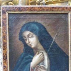Arte: VIRGEN DOLOROSA. OLEO/LIENZO S-XVII. Lote 277717268