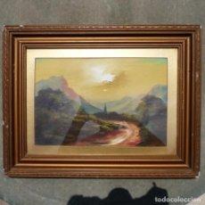 Arte: ANTIGUO OLEO SOBRE CARTON, SIN FIRMA VISIBLE, POR CATALOGAR.. Lote 277722798