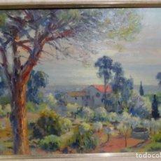 Arte: ÓLEO SOBRE TABLA DE ENRIC MODOLELL MARQUÉS (CABRERA DE MAR 1903).. Lote 277844968
