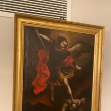 Arte: SAN MIGUEL OLEO SOBRE LIENZO S. XVII. Lote 278181738