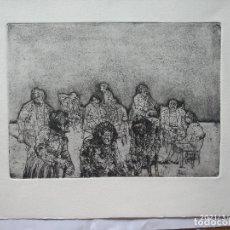 Arte: HANS VAN NORDEN 24 X 18 CM APROX. 1915-2011 SOBRE PAPEL DENSO. Lote 278274048