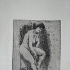 Arte: HANS VAN NORDEN 17 X 13 CM APROX. 1915-2011 CARBONCILLO SOBRE PAPEL DENSO. Lote 278274473