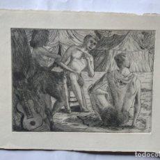Arte: HANS VAN NORDEN 19,5 X 14 CM APROX. 1915-2011 ACUARELA SOBRE PAPEL DENSO. Lote 278274988