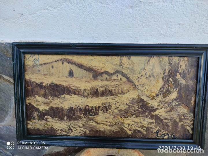 Arte: Lote de nueve cuadros al óleo - Foto 2 - 278409753