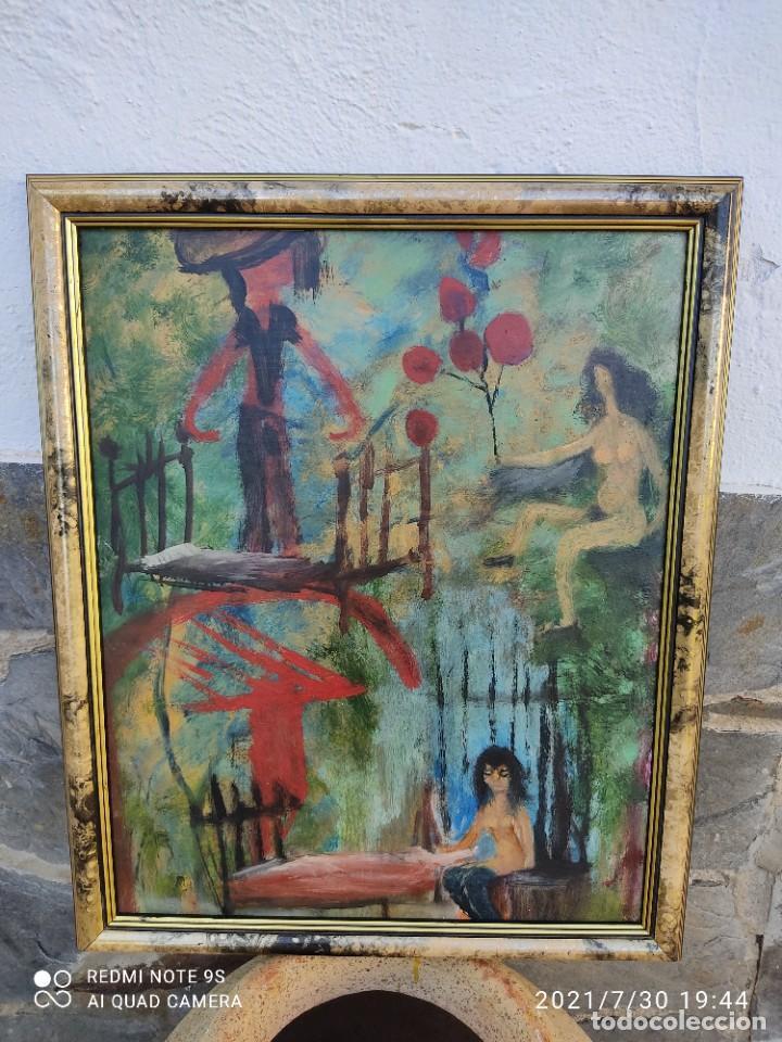 Arte: Lote de nueve cuadros al óleo - Foto 4 - 278409753