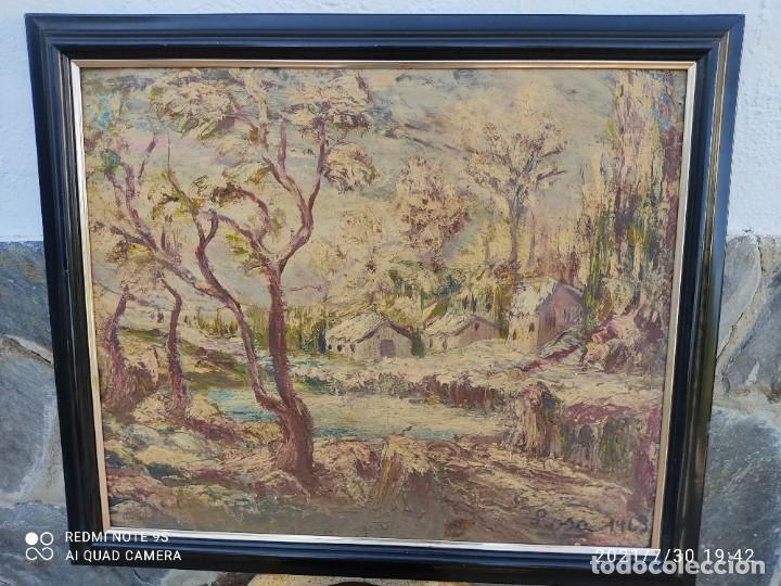 Arte: Lote de nueve cuadros al óleo - Foto 7 - 278409753