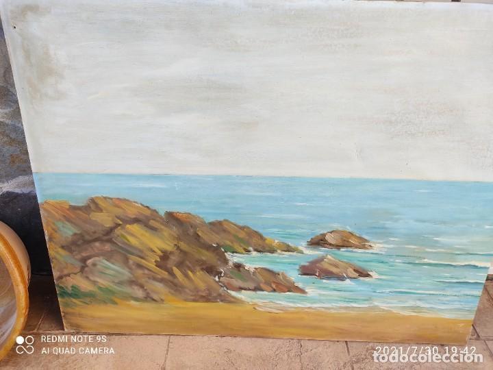 Arte: Lote de nueve cuadros al óleo - Foto 8 - 278409753