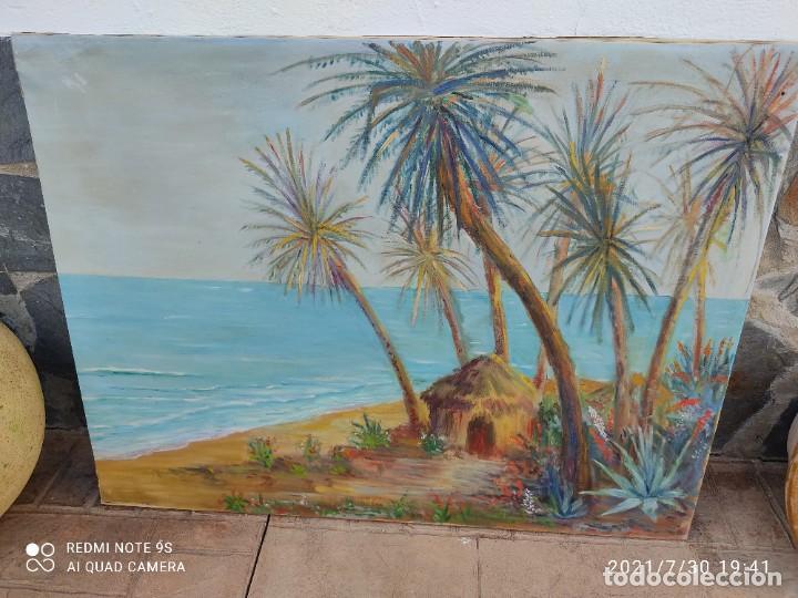 Arte: Lote de nueve cuadros al óleo - Foto 9 - 278409753