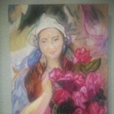 Arte: CUADRO FIRMADO 55CMX38CM. Lote 278435213