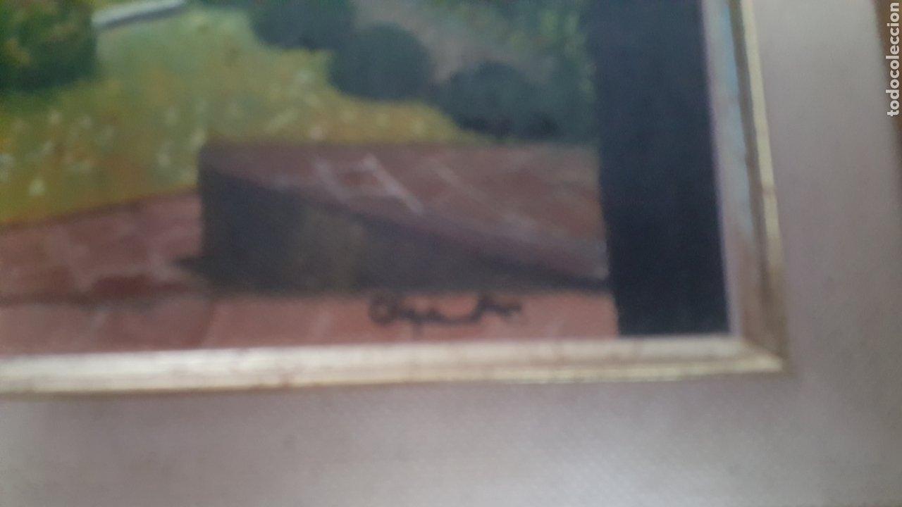 Arte: Precioso cuadro de Palacio Árabe realizado en Oleo sobre lienzo con firma de autor. Ver descripción - Foto 5 - 278615093