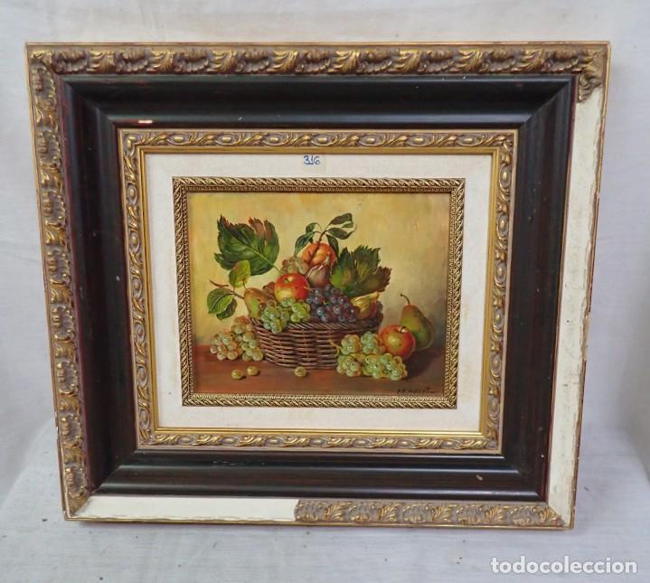 ÓLEO SOBRE TABLA R.MALLET (Arte - Pintura - Pintura al Óleo Contemporánea )