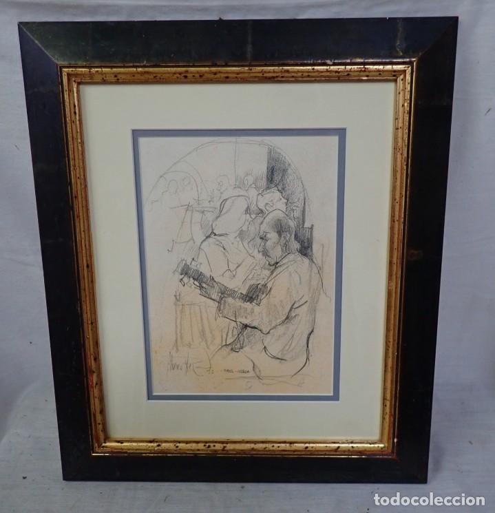CARBONCILLO FIRMA A CATALOGAR (Arte - Pintura - Pintura al Óleo Contemporánea )