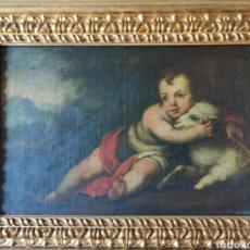 Arte: ESCUELA SEVILLANA S. XVII - ÓLEO SOBRE LIENZO - MARCO DE ÉPOCA - ALTA COLECCIÓN. Lote 279296733