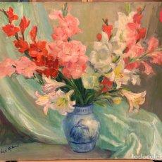 Arte: ANTONIO VIDAL ROLLAND 1889-1970, BODEGÓN SOBRE TELA SIN MARCO, 73X60 CM.. Lote 279347133
