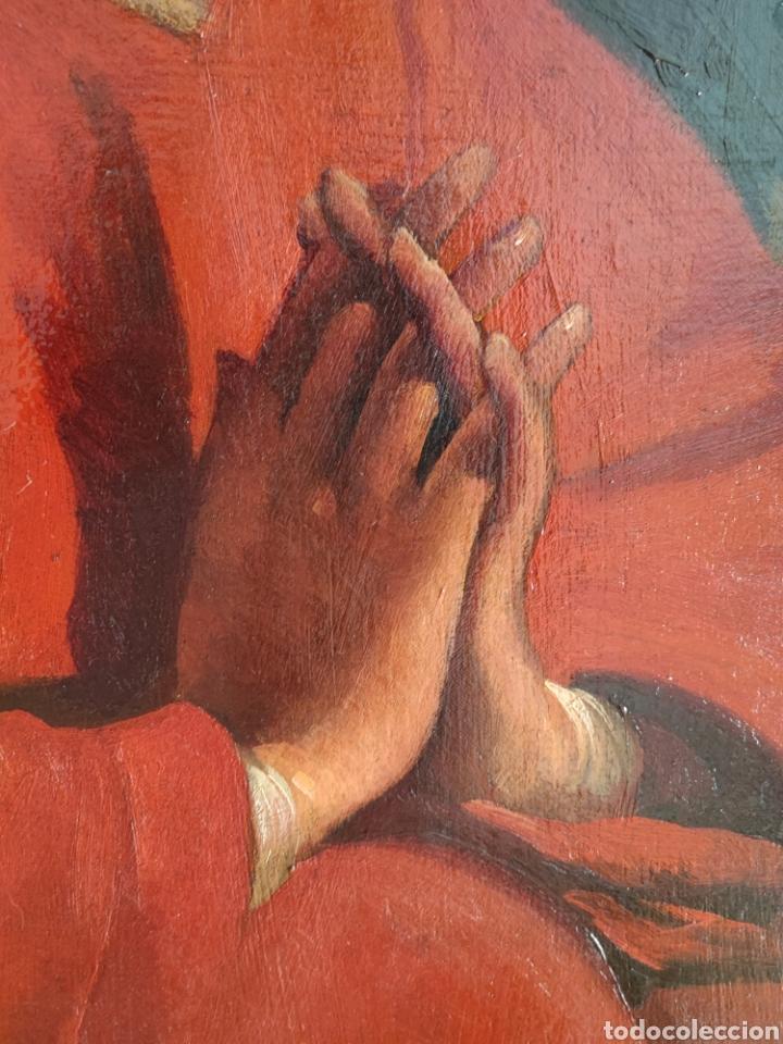 Arte: Cuadro religioso antiguo - Foto 11 - 276018833