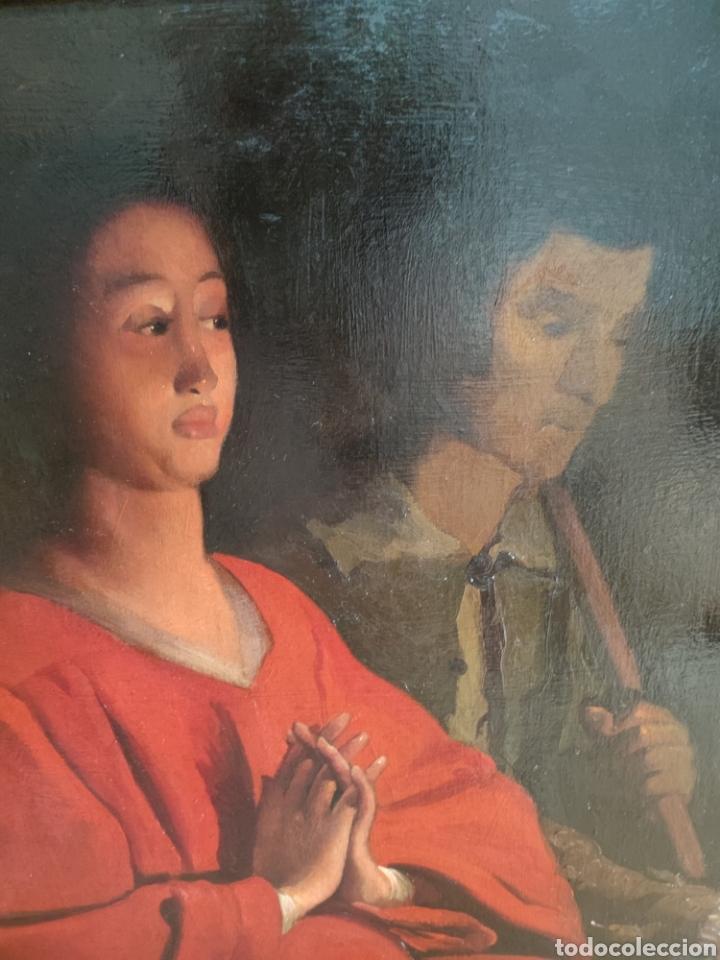 Arte: Cuadro religioso antiguo - Foto 15 - 276018833