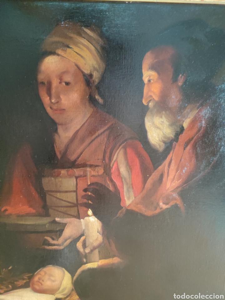Arte: Cuadro religioso antiguo - Foto 16 - 276018833