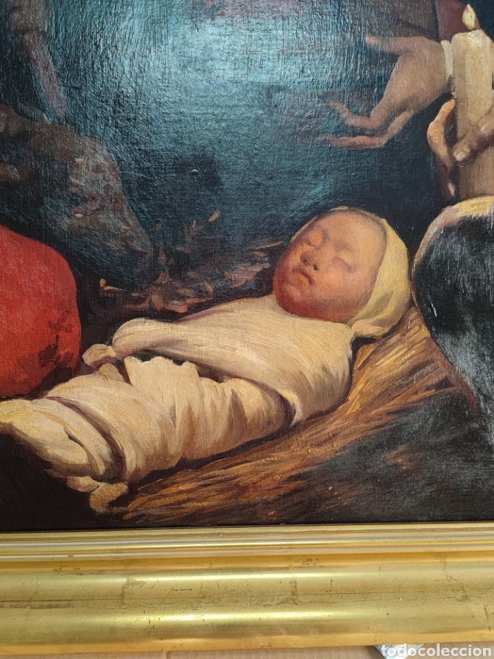 Arte: Cuadro religioso antiguo - Foto 18 - 276018833
