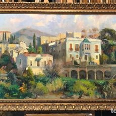 Arte: PAISAJE CATALAN JORDI BAGES, GRAN FORMATO. Lote 279591373