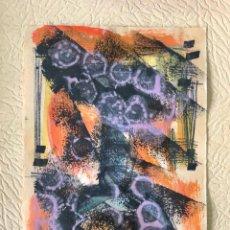 Arte: WILL FABER - TÉCNICA MIXTA SOBRE PAPEL -. Lote 280658628