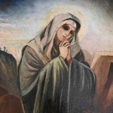 Arte: VIRGEN DOLOROSA . JOSÉ PÉREZ JIMENEZ. Lote 281772198