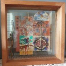 Arte: QUIM DOMENE I BERGA (OLOT, 1948) - PINTURA/ESCULTURA.FIRMADO.1992.. Lote 281859158