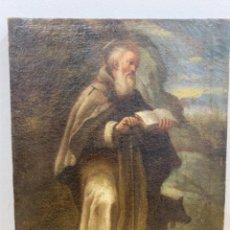Arte: SAN ANTON OLEO SOBRE LIENZO SIGLO XVIII. Lote 282240918