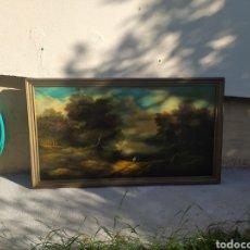 Arte: ÓLEO DE GRAN TAMAÑO ESCUELA ALEMANA? 1,84M X 1M. Lote 282244588