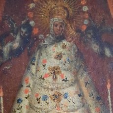Art: OLEO SOBRE LIENZO SIGLO XVIII ,ESCUELA COLONIAL,MEXICO?. Lote 282482418
