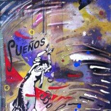 Arte: ENVIÓ GRATIS. OBRA ORIGINAL DEL ARTISTA CEESEPE 2000 . MIRAR FOTOS. Lote 283906763
