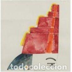 Arte: ENVIÓ GRATIS. OBRA ORIGINAL DEL ARTISTA EDUARDO ARROYO 1989 . MIRAR FOTOS. Lote 283909643