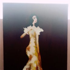 Arte: HERMOSA PINTURA VERTICAL. MUJER DEL AYER (3) ÓLEO SOBRE LIENZO 65CM X 50CM. Lote 283929658