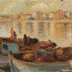Arte: MARIE FRANÇOISE DE L'ESPINAY (FRANCIA 1927) ÓLEO SOBRE LIENZO. IMPRESIONISMO. IMPRESIONISTA. Lote 284529913