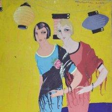 Art: TEMPERA FIRMADA PASCUAL LLOP,ART DECO,PARA LA PUBLICACION EN LA SEMANA GRAFICA ,ORIGINAL DE EPOCA. Lote 284838393
