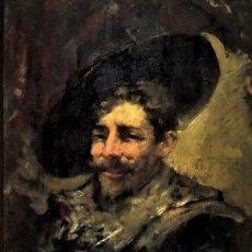 Arte: ESCUELA HOLANDESA ANONIMO SIGLO XIX EL FUMADOR DE PIPA. Lote 285163628