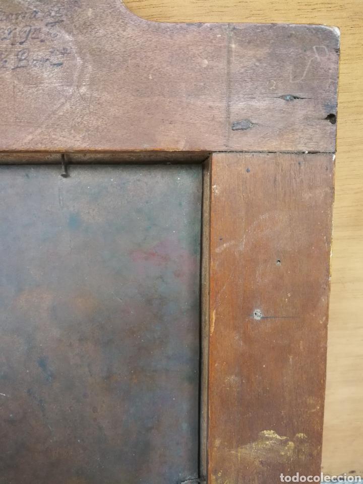 Arte: INCREÍBLE ÓLEO ESCUELA ESPAÑOLA S.XVIII SOBRE COBRE STA.ROSALÍA, PROPIEDAD BISBE BARCELONA (1735). - Foto 18 - 285279888
